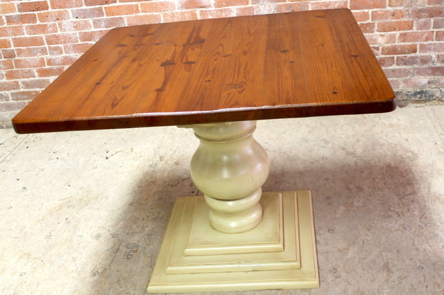 Square Dining Table With Pedestal Base