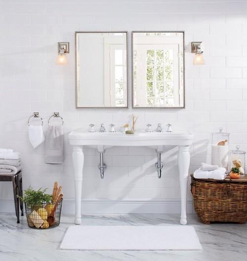 Double Sink Pedestal Vs Single Sink Vanity