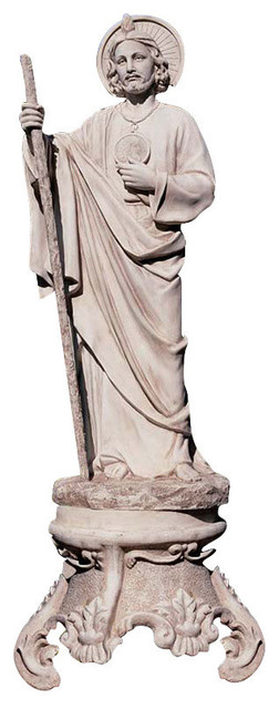 St Jude Patron Saint Of Hopeless Cases Garden Statue