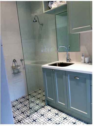 cement tile bathroom floor cement encaustic tiles for shower floor 17623