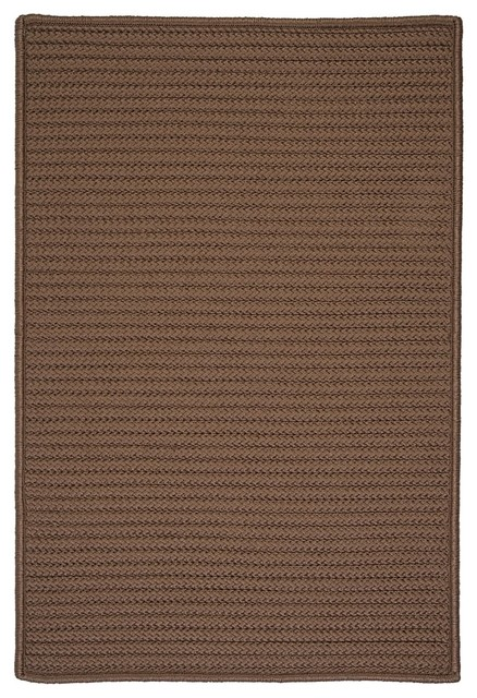 Colonial Mills Simply Home Solid H286 Cashew Rug, 12x15