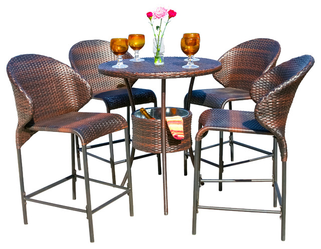 Marvelous Contemporary Outdoor Pub And Bistro Sets by GDFStudio