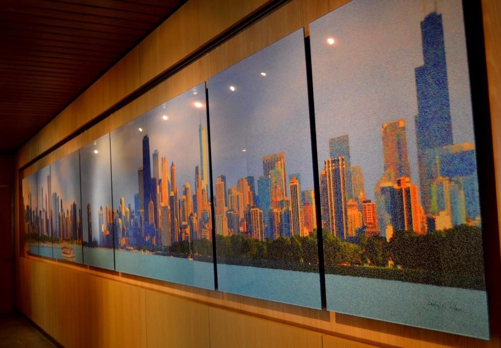 "American Airlines Admirals & Flagship Club  ""CHICAGO'S GRANDE JATTE"" by Laurel F"