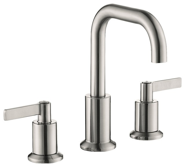Attractive 2 Handle 8widespread Bathroom Sink Faucet Contemporary