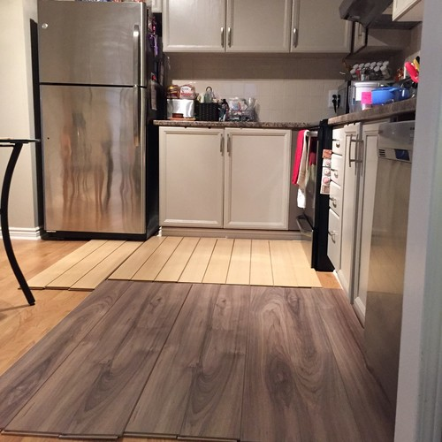 Brown Laminate Floors What Color For Kitchen Furnitureopen Living