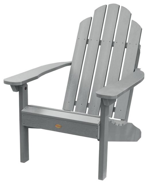 Hampton Classic Adirondack Chair, Coastal Teak.