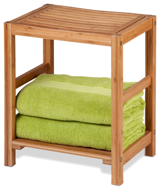 Bamboo Stool Transitional Shower Benches Amp Seats By