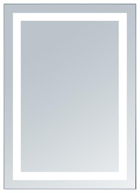 "Electric LED Mirror, 20""x28"""