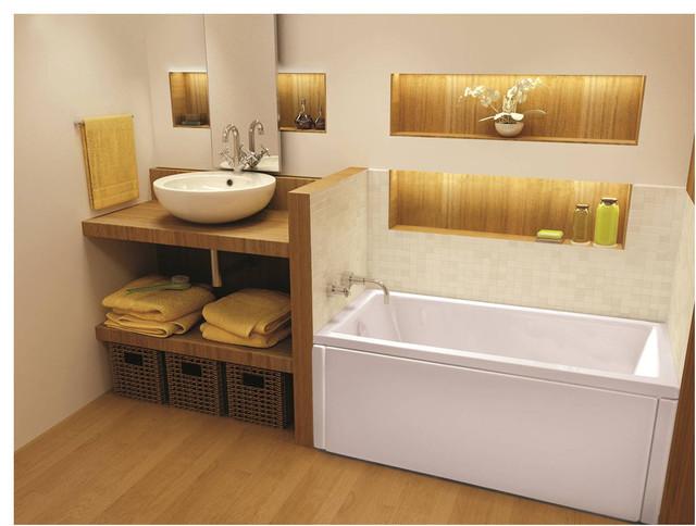 60 X28 Oceania Drop In Unity Bathtub Contemporary Bathtubs By