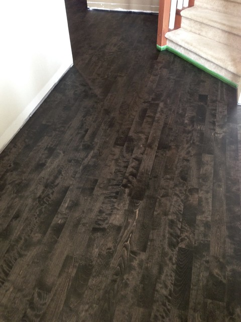 Graphite On Maple Vancouver By Evergreen Hardwood Floors