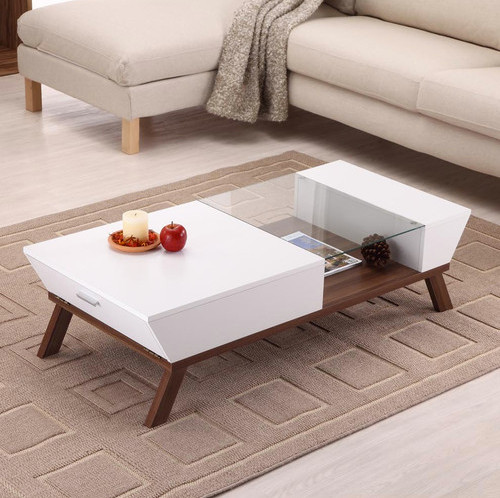 Hokku Designs Braxton Coffee Table White Modern Coffee Tables By Wayfair