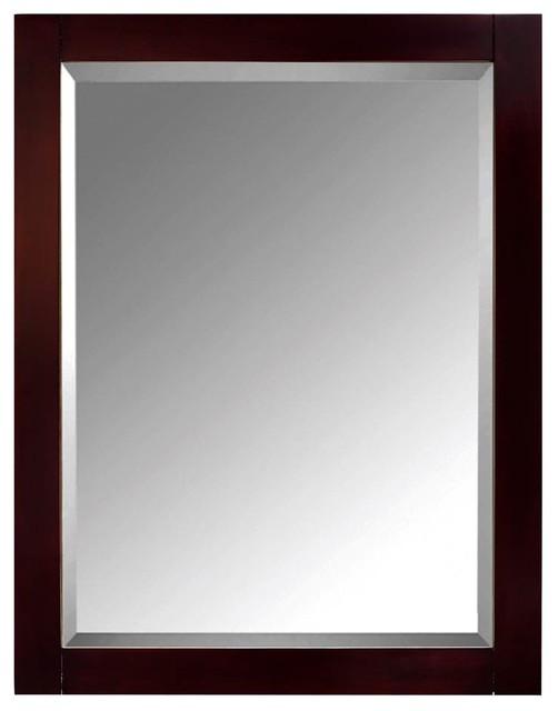 Bathroom Mirror Cabinet, Espresso Finish.
