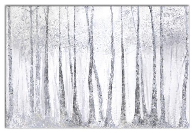 Silver Birch Trees\