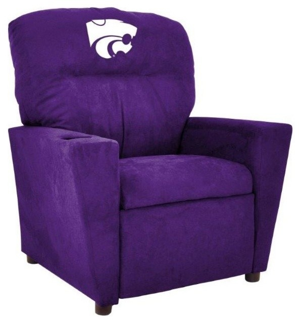 Kansas State University Tween Recliner Contemporary