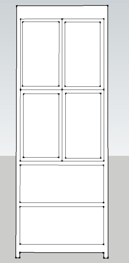 Any Suggestions Or Tweaks To Improve How Much Clearance Should I Allow For The Inset Upper Doors Open