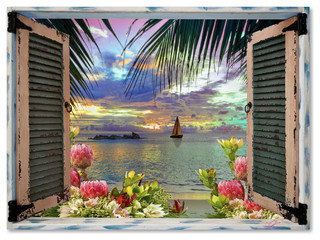 Zspmed Of Tropical Wall Art Trend About Remodel Home Decor Ideas