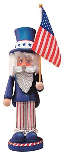 "Uncle Sam Nutcracker 14""."