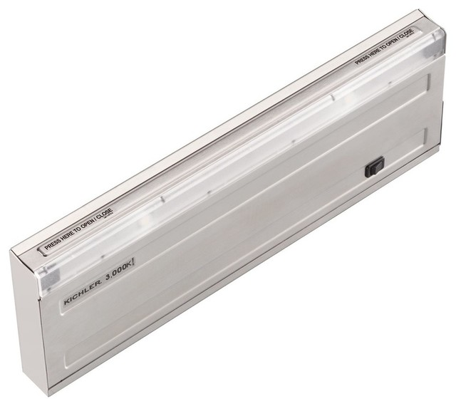 Kichler Lighting Direct-Wire 3000K LED UCab 12 - Contemporary - Undercabinet Lighting - by ...