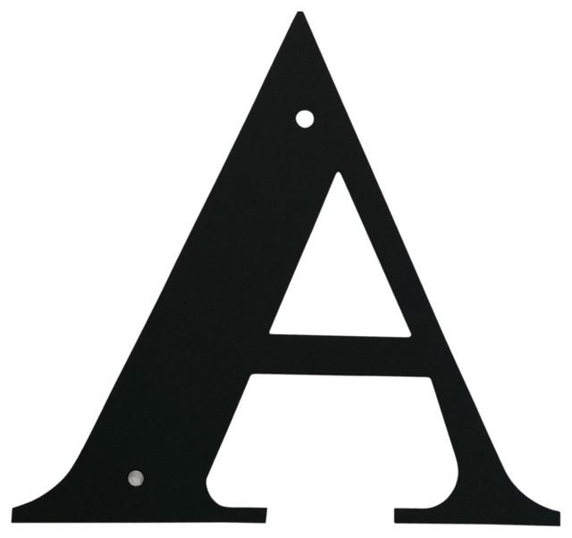 Decorative Letter, Medium, A