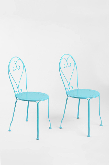 Cafe Chairs, Blue