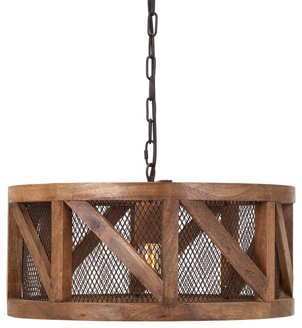 wire pendant lighting. scintillating kennedy wood and wire pendant light transitionalpendant lighting