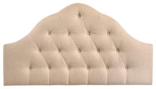 Modway Sovereign Fabric Headboard, Beige, King
