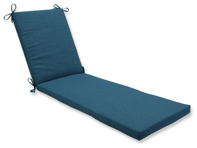 Rave Teal Oversized Chaise Cushion.