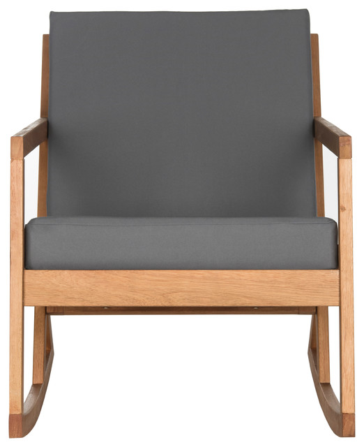Safavieh Vernon Rocking Chair, Gray.