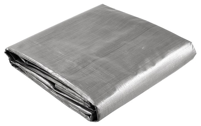 Heavy Duty Reinforced Poly Tarp All Purpose Canopy Tent Cover, 8&x27;x10&x27;.