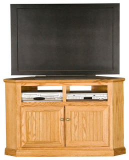 "Eagle Furniture Heritage 50"" Corner TV Cart - Traditional - Entertainment Centers And Tv Stands ..."