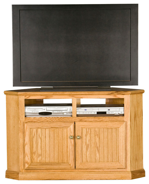 """Eagle Furniture Heritage 50"""" Corner TV Cart - Traditional - Entertainment Centers And Tv Stands ..."""