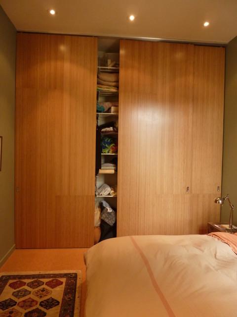 Master closet modern