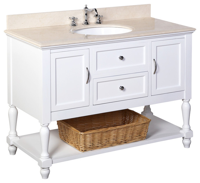 Beverly bath vanity traditional bathroom vanities and Bathroom vanity storage organization