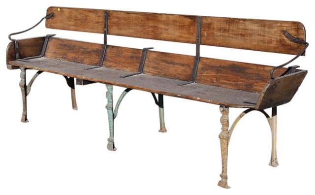 Antique Buckboard Wagon Dining Bench Seat