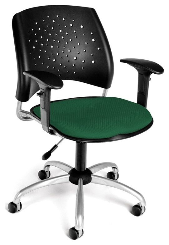 OFM Stars Swivel Stool with Arms