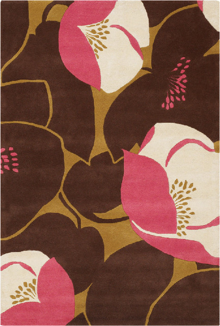 Brown And Pink Area Rugs Rug Ideas