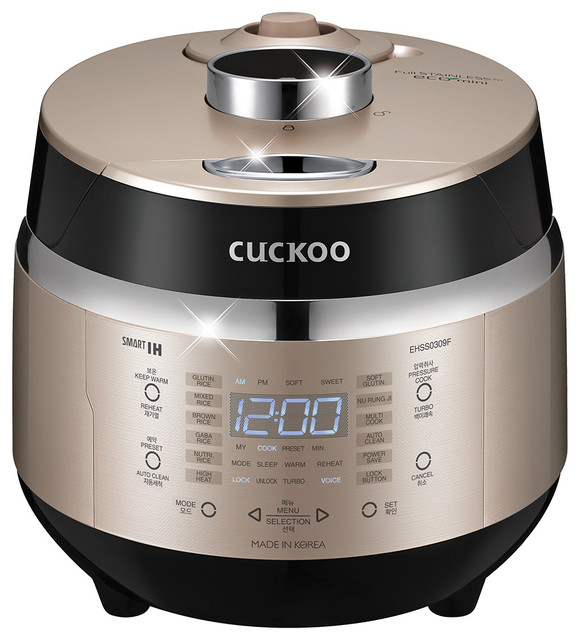 Cuckoo Electric Induction Heating Pressure Rice Cooker Crp-Ehss0309fg.