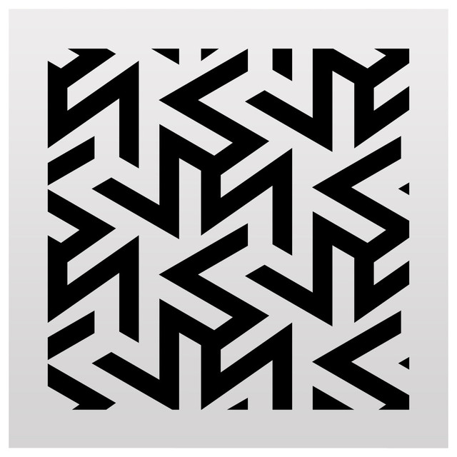 Stencilslab Geometric Pattern Stencil For Your Projects