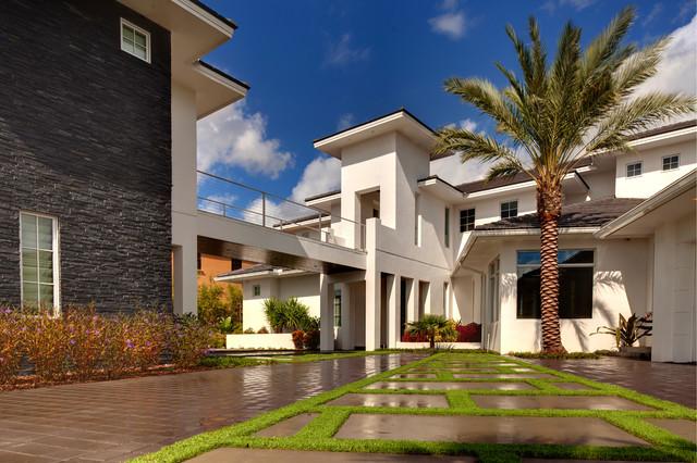 Exterior Elevations Modern