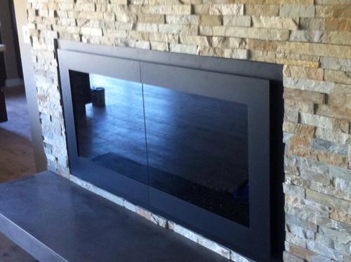 & Stoll fireplace door Pezcame.Com