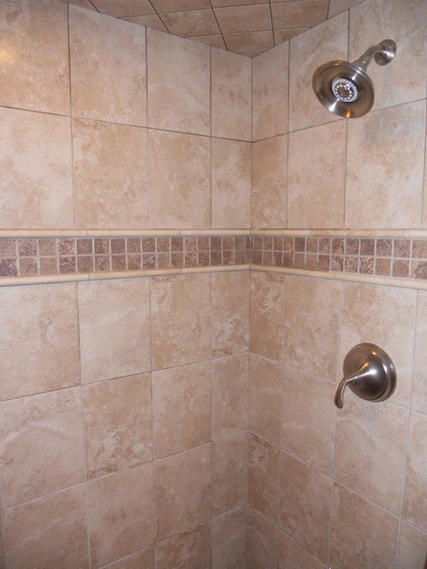 images of tiled showers. Custom Tiled Showers Traditional Bathroom
