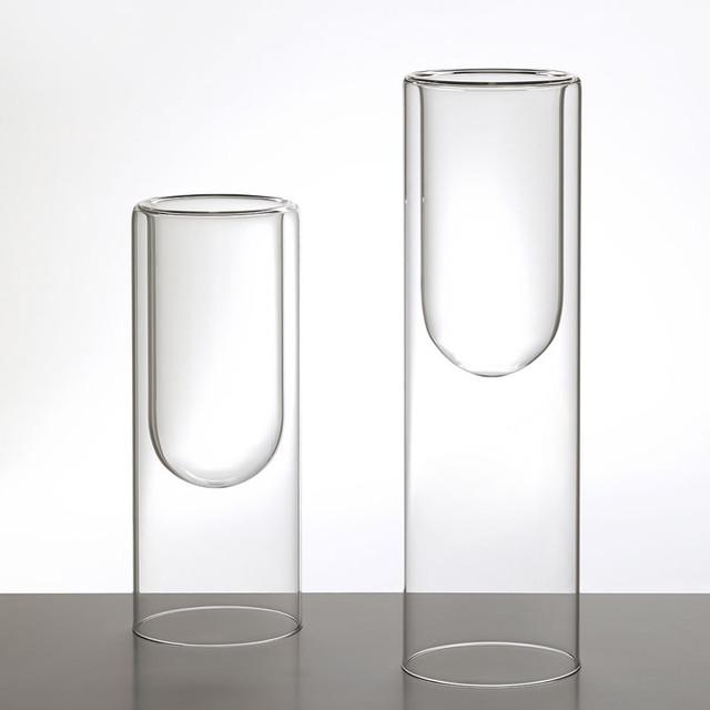 glas italia tutube glass vase modernvases