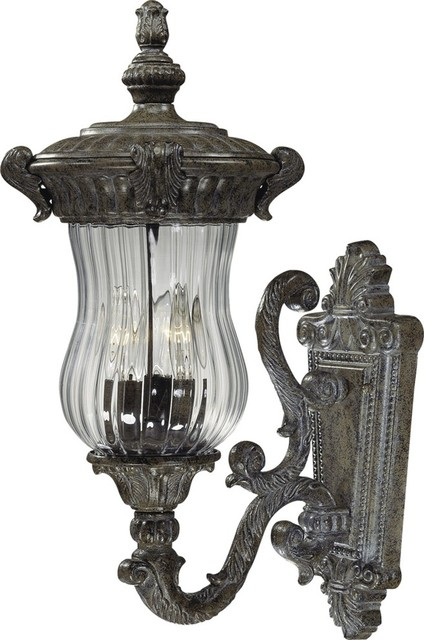 Exterior Wall Sconce Mounting Height : Volume Lighting V8540 Melrose 3 Light 21