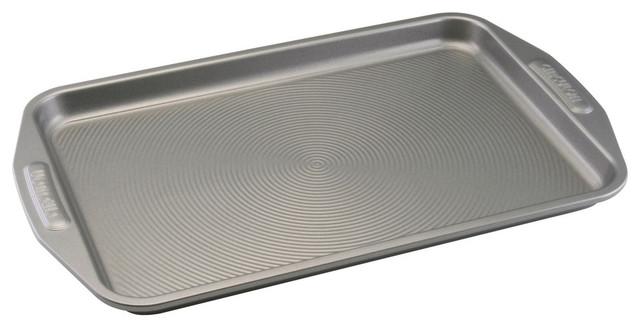 """Nonstick Bakeware 10""""x15"""" Cookie Pan, Gray."""