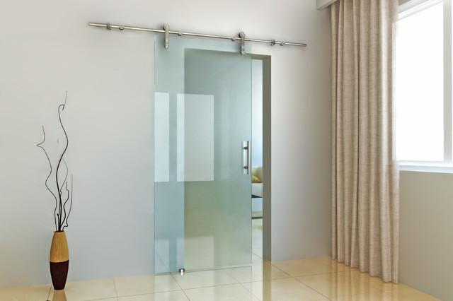 Modern Barn Door Hardware For Glass Door Modern Hong
