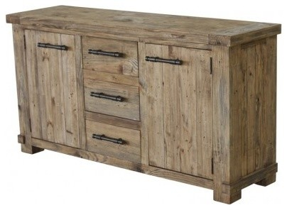 Beautiful Autumn Elle Designs Nestor Country Buffet/Sideboard Cabinet Rustic Buffets  And