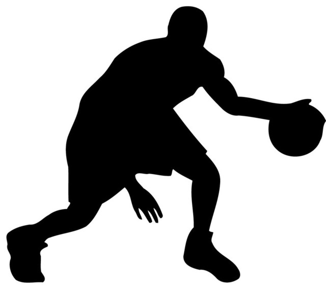 Basketball Player Vinyl Wall Sticker Decal Contemporary
