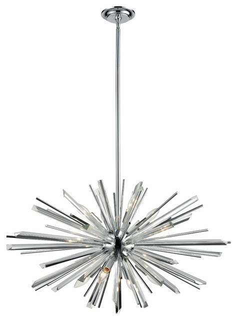 Avenue Lighting Hf8202-Ch Palisades Ave. 8-Light Chandelier
