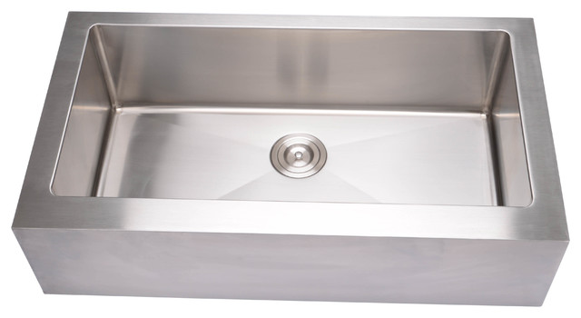 Extra Large Farmhouse Sink : ... Farmhouse Single Bowl Sink, Extra Large contemporary-kitchen-sinks