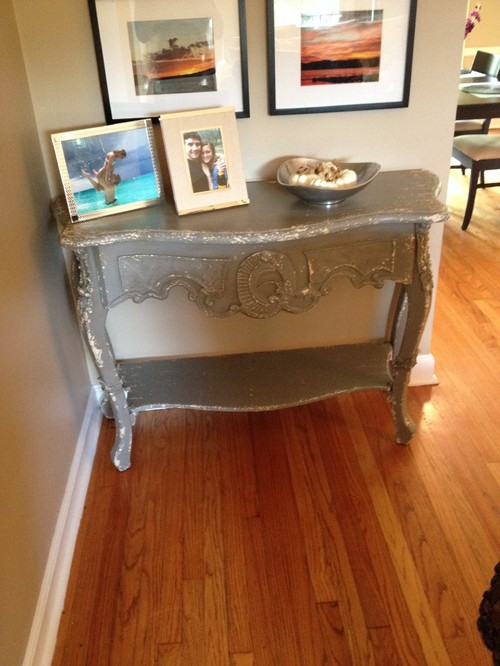 Does This Shabby Chic Console Table Work In My Living Room? Style Help